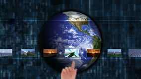 选择关于能承受的energie的手夹子 股票视频