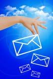 选择好邮件 免版税图库摄影