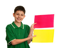 选择您颜色的收藏页 免版税库存图片