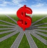 选择投资 免版税图库摄影