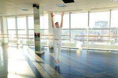 选择移动的运动服的舞蹈动作设计者为新的节律唱诵的音乐danc 免版税库存图片