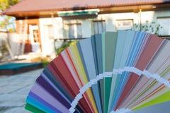 选择门面的一种新的颜色 库存图片
