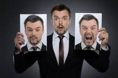 选择面具今天。 免版税库存图片