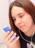 选择音乐 免版税库存照片