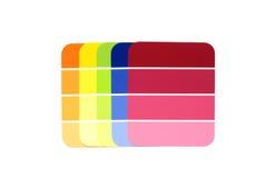 选择颜色 免版税图库摄影