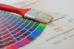 选择颜色 免版税库存图片