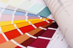 选择颜色 免版税库存照片