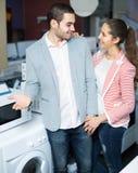 选择洗衣机的配偶 图库摄影