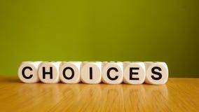 选择 免版税库存图片