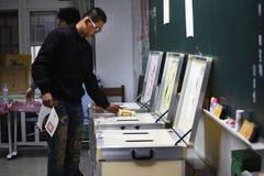 选择2012总统年s台湾 免版税库存图片