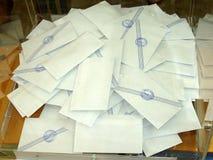 选票 免版税图库摄影