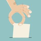 选票 向量例证