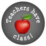 选件类有教师 免版税库存图片