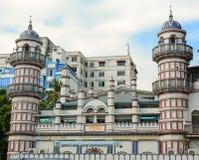 逊尼派清真寺看法在仰光 库存图片
