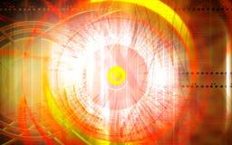透明中心的环形 向量例证