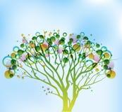 透明度结构树 向量例证