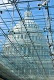 透明最高限额的玻璃 免版税库存照片