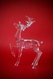 透明的驯鹿 免版税库存照片
