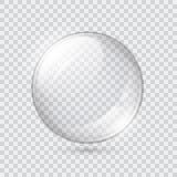 透明玻璃的范围 向量例证