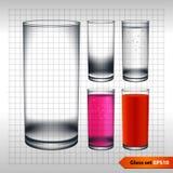 透明玻璃 图库摄影
