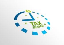 透视图季节税务 免版税图库摄影