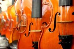 透视图小提琴 库存图片