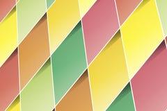 透视图长方形 免版税库存照片