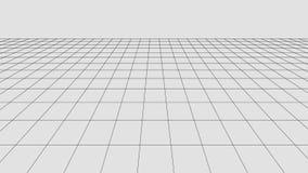 透视栅格背景 抽象传染媒介wireframe风景 抽象滤网背景 r 库存例证