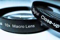 透镜宏指令 库存照片