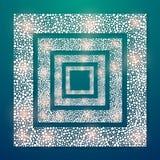 透镜火光光传染媒介背景eps 10 免版税图库摄影
