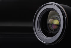 透镜照片 免版税图库摄影