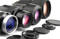 透镜照片 图库摄影