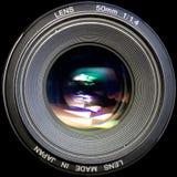 透镜照片 免版税库存照片