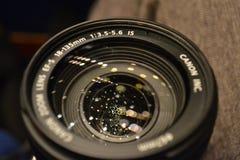透镜的特写镜头 免版税库存图片