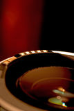 透镜红色 库存图片