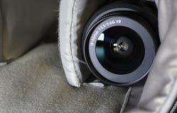 透镜 一套摄影师 防护玻璃 免版税库存照片
