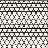逐渐变细的线 现代美发师几何纹理 模式无缝的向量 库存图片