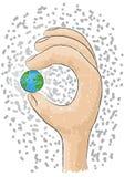 递世界 免版税图库摄影