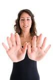 递妇女年轻人 免版税库存照片