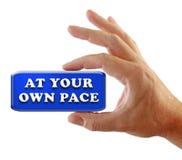 递拥有您步幅的方法 库存照片