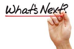 递文字什么是下的,企业概念 免版税图库摄影