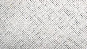 递编织的棉布纹理,天然纤维 奶油被装载的饼干 免版税库存照片