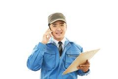 递送急件服务 免版税库存图片