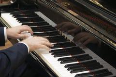 递钢琴使用 免版税图库摄影