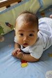 逗人喜爱可爱的婴孩 库存图片