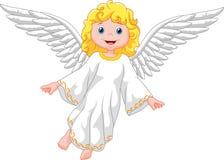 逗人喜爱天使的动画片 图库摄影