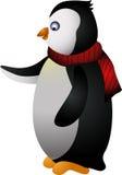 逗人喜爱的企鹅动画片 免版税库存照片