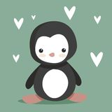 逗人喜爱的企鹅 库存照片