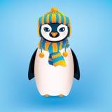 逗人喜爱的企鹅 免版税库存照片