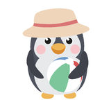 逗人喜爱的企鹅 免版税图库摄影